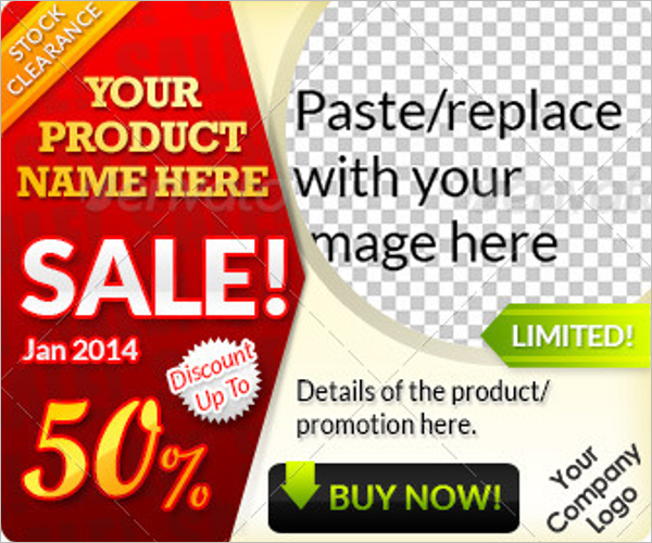 Top Sales Website Banner Template