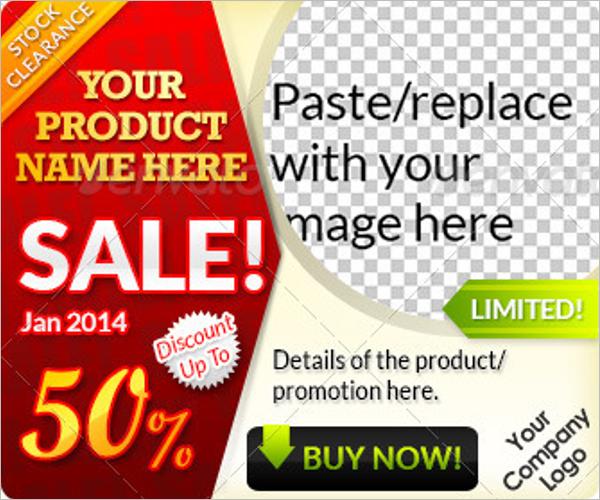 Top Sales Website Banner Template