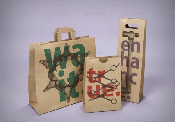 Top Selling Paper Bag Mockup Pack