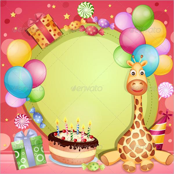 Tory Burch Birthday Gift Card Design