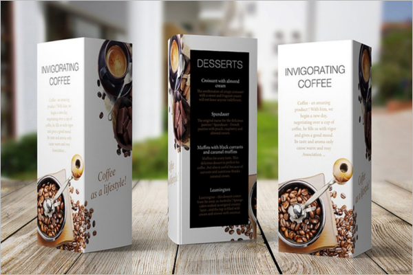 41 table tent card mockups free psd templates