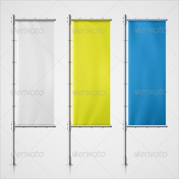 Transparent Flag Banner Design