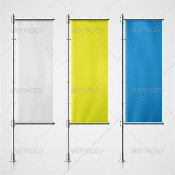 Transparent Flag Banner Design