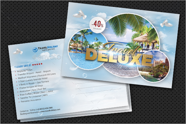 Travel Business Card Design Download