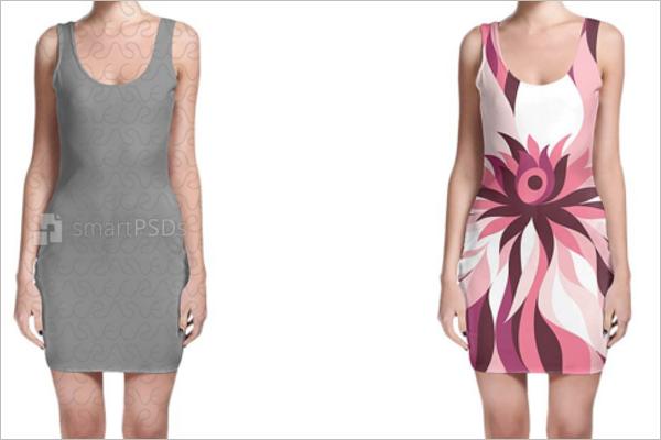 Trendy Clothing Mockup Design
