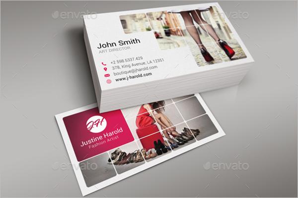 Trendy Fashion Business Card Design