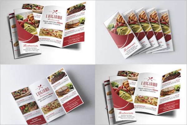 Tri-Fold Menu Design Bundle