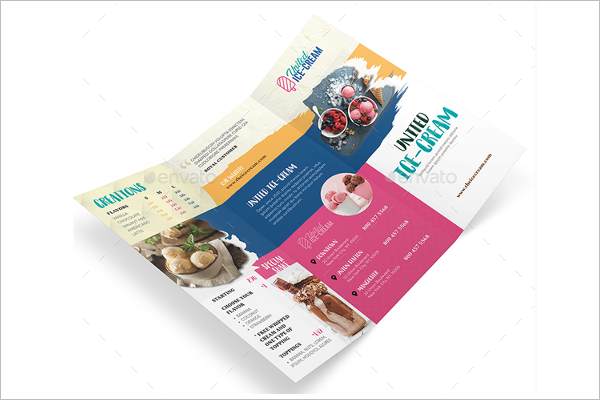 Tri-Fold Menu Design