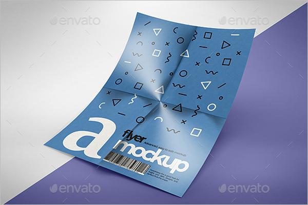 3D Flyer Mockup Design