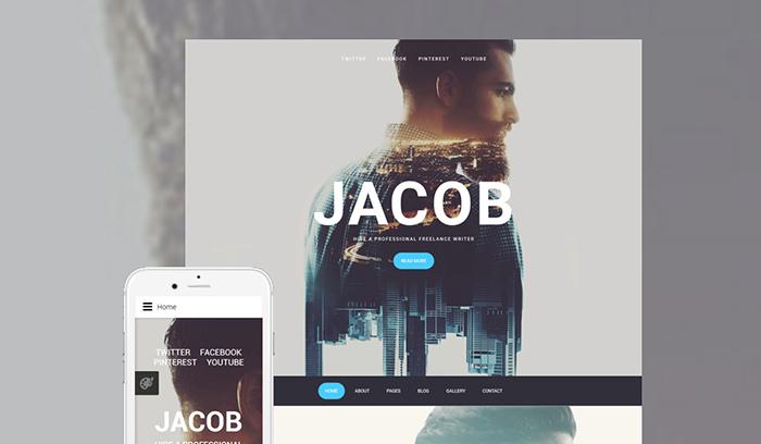 Jacob Joomla Template