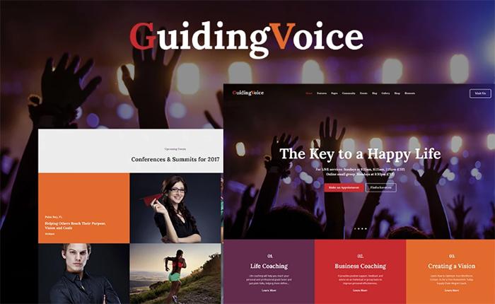 One page & Multipage Skew WordPress Theme