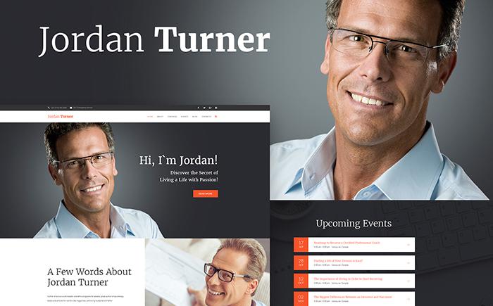 Jordan Turner - Life Coaching WordPress Theme