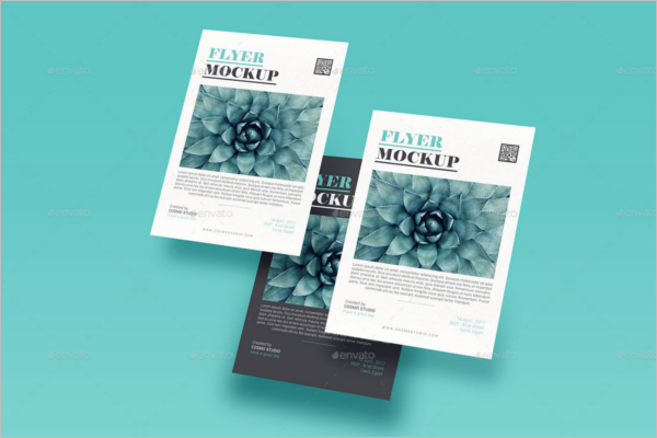 Advertisement Flyer Mockup Template