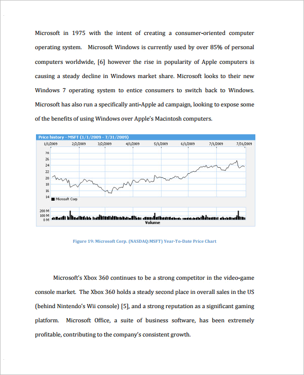 Analysis Document For Stock Market