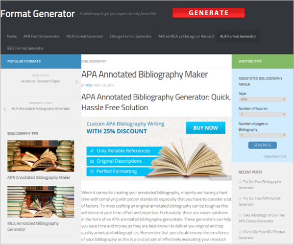 Annotated Bibliography Maker Free Download