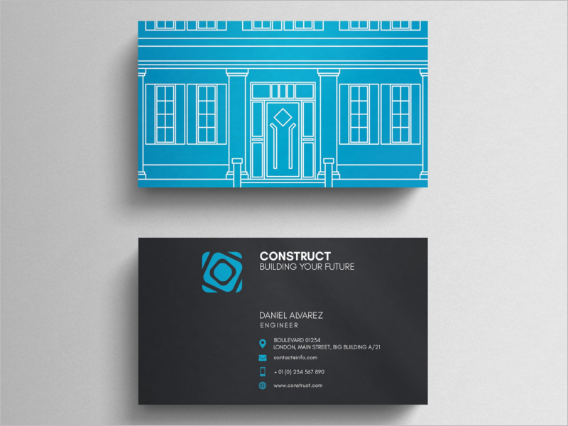 Architect Business Card Design Template