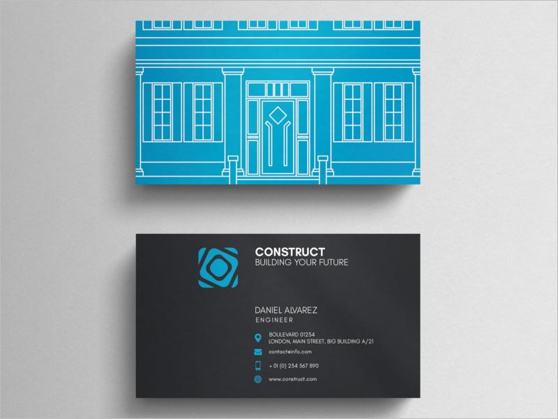 Architect Business Card Design Template
