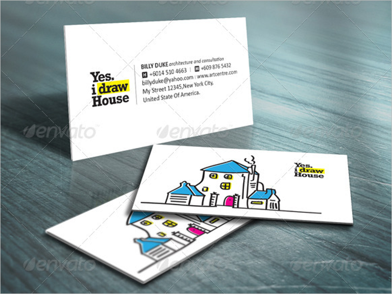 Architecture Business Card Vector Design