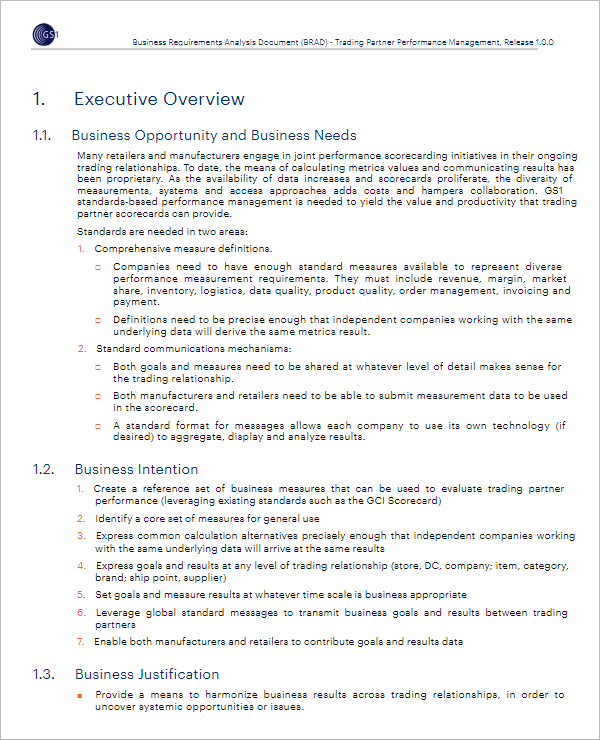Best Business Impact Analysis Template