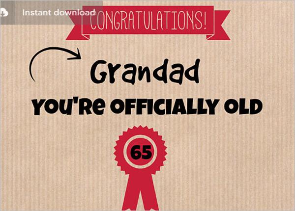 Birthday Certificate Status Template
