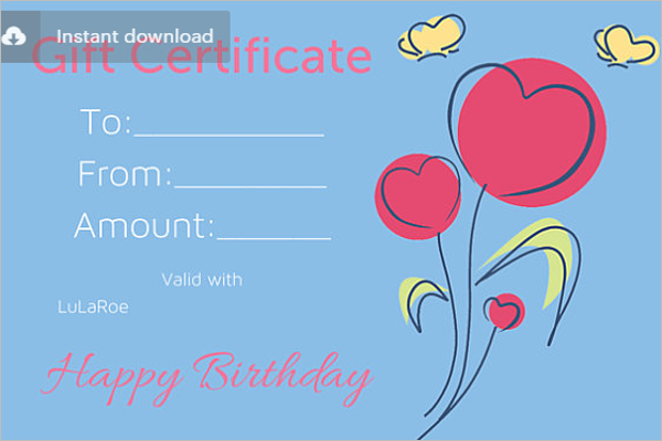 20 Birthday Certificate Templates Free Download