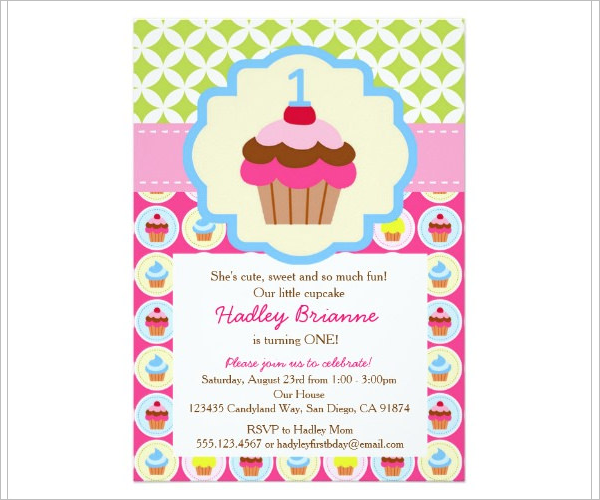 Birthday Party Email Invitation Sample