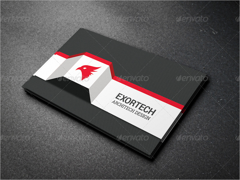 Black Architect Business Card Design