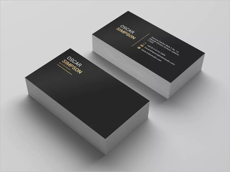 Branding Architect Business Card Template