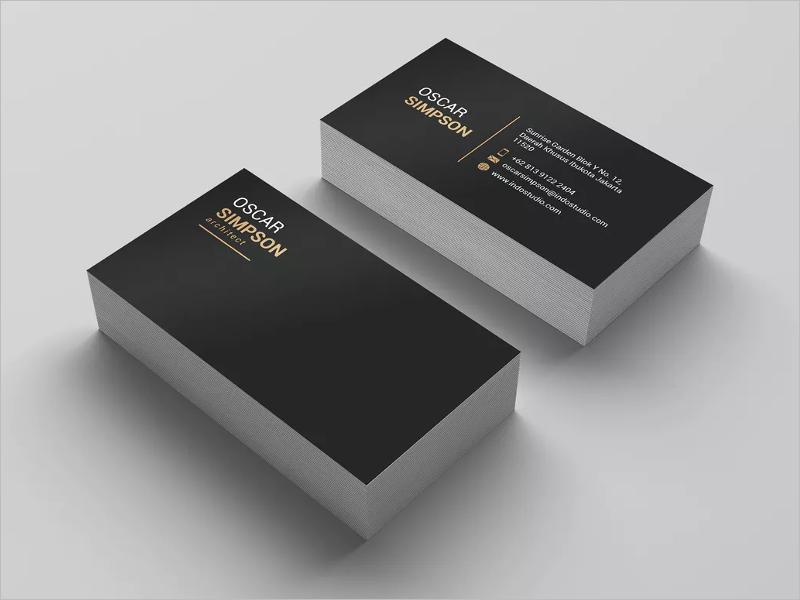 Branding Architect Business Card Template