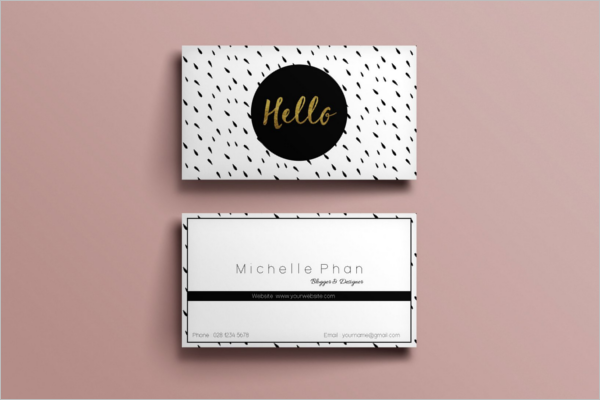 Business Card Photoshop Design