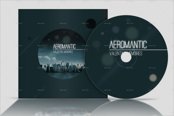 CD & DVD Cover Case Template