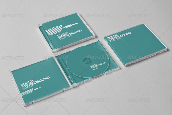 CD Jewel Case Template Photoshop