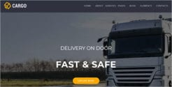 Cargo Transport  Joomla Template
