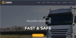 Cargo Transport Joomla Template