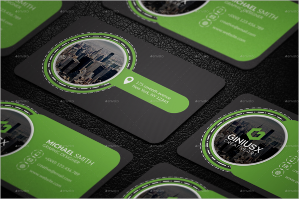 Clean Creative Business Card Template
