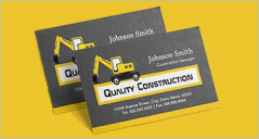 20+ Construction Company Business Card Templates