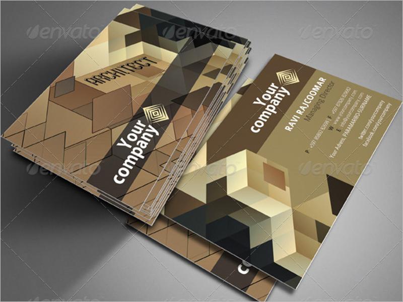 Corporate Architecture Business Card Design