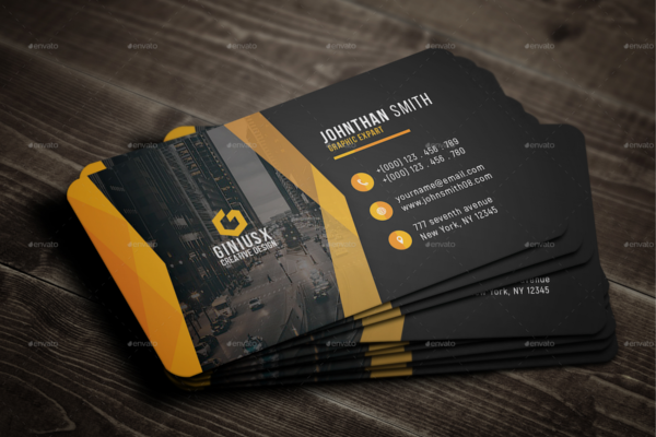 Creative Business Card Print Template