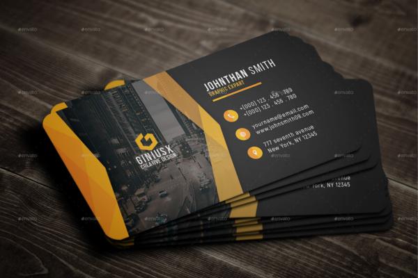 Creative Business Card Print Template