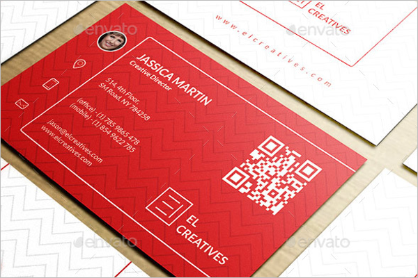 Creative Business Card Set Design