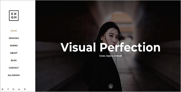 Creative Minimal Drupal Themes