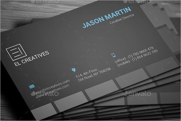 Creative Plane Business Card Design