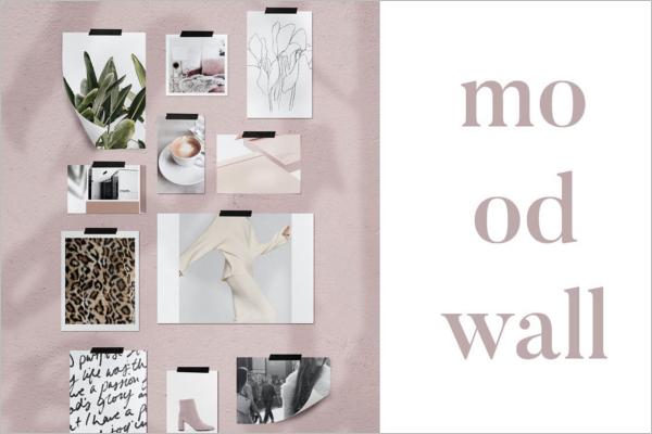 CustomWall Mockup Design