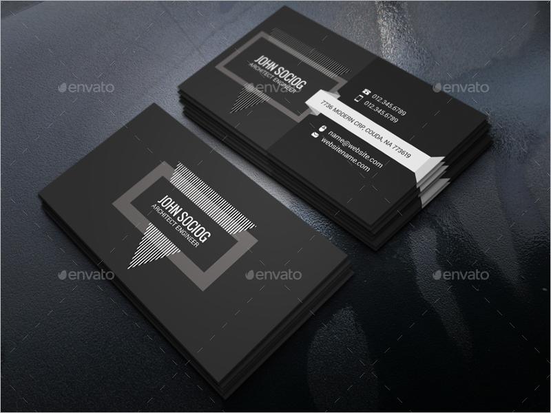 Customizable Architect Business Card Design