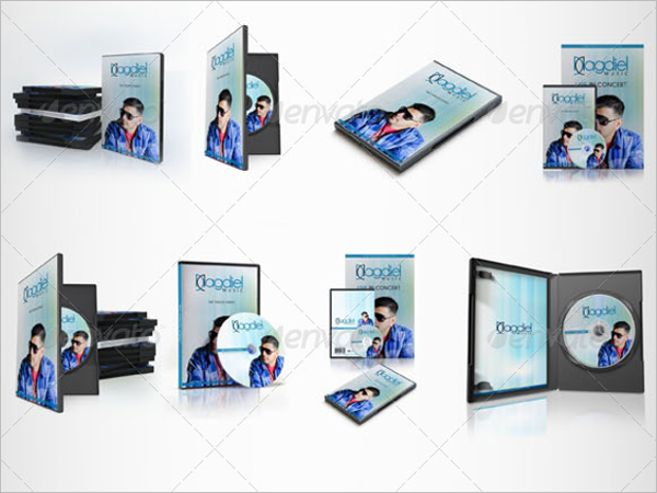 DVD Case Cover Template