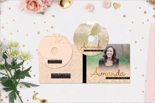 DVD Case Template InDesign