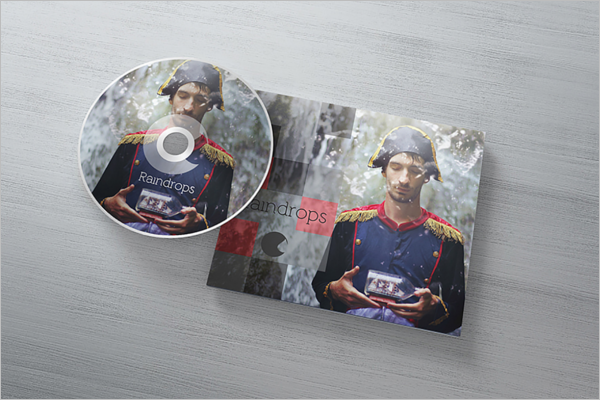 DVD Case Template PSD Free Download