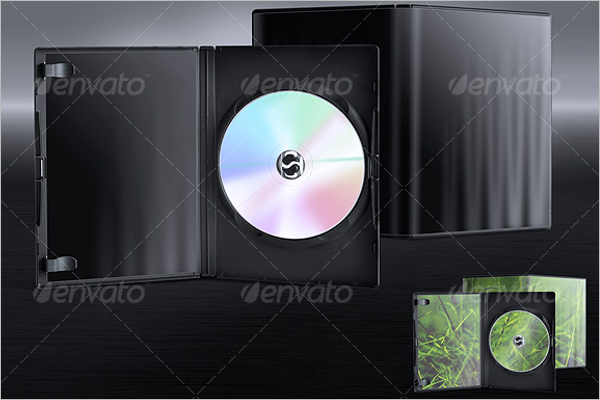 DVD Case Template PSD