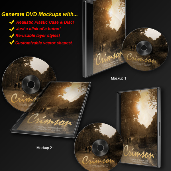 23 Dvd Case Templates Free Psd Indesign Word Designs