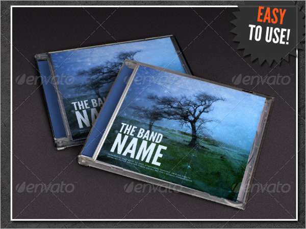 Editable Jewel Case Template